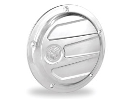 Performance Machine Scallop Derby Cover with Chrome Finish. Fits Softail 2000-2018, Dyna 1999-2017 & Touring 1999-2015 Models.