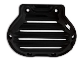 Nostalgia Clutch Release Cover - Black. Fits Big Twin 1987-2006 with 5 Speed Transmission.