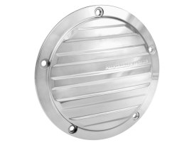Performance Machine Drive Derby Cover with Chrome Finish. Fits Softail 2000-2018, Dyna 1999-2017 & Touring 1999-2015 Models.