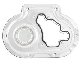 Clarity Clutch Release Cover - Chrome. Fits Softail 2018up.