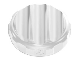 Nostalgia Oil Filler Cap with Chrome Finish. Fits Dyna 2006up & Touring 2007-2011 Models.