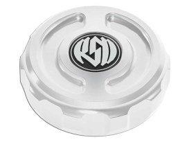 Roland Sands Design Cafe Oil Filler Cap with Chrome Finish. Fits Softail 2000up.