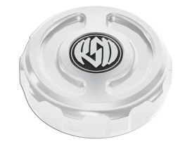 Roland Sands Design Cafe Oil Filler Cap with Chrome Finish. Fits Dyna 2006up & Touring 2007-2011 Models.
