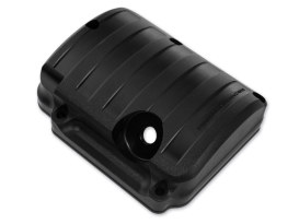 Drive Transmission Top Cover with Black Ops Finish. Fits Big Twin 1987-2006 with 5 Speed Transmission.