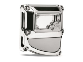 Clarity Transmission Top Cover with Chrome Finish. Fits Touring 2017up & Softail 2018up Models.