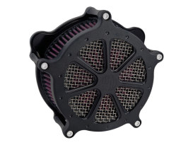 Speed 7 Air Cleaner Kit - Black Ops. Fits Twin Cam 2008-2017 with Throttle-by-Wire.
