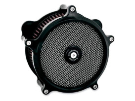 Super Gas Air Cleaner Kit - Black. Fits Twin Cam 2008-2017 with Throttle-by-Wire.