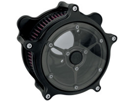 Clarity Air Cleaner Kit - Black Ops. Fits Twin Cam 2008-2017 with Throttle-by-Wire.
