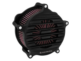 RSD Nostalgia Air Filter Assembly with Black Ops Finish. Fits Sportster 1991up.