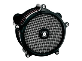 Super Gas Air Cleaner Kit - Black. Fits Touring 2017up & Softail 2018up.