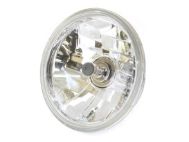 5-3/4in. Replacement Headlight Lens. Fits Performance Machine & Roland Sands Design 5-3/4in. Headlights