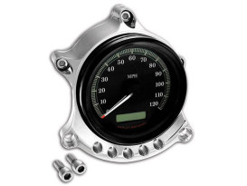 Roland Sands Design Gauge & Headlight Relocator with Chrome Finish. Fits Sportster 1995up.