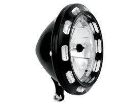 5-3/4in. Apex Headlight - Black Contrast Cut.