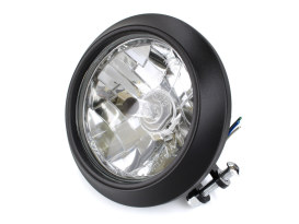 5-3/4in. Clean Headlight - Black Ops.