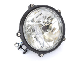 5-3/4in. Vintage Headlight - Black Ops.
