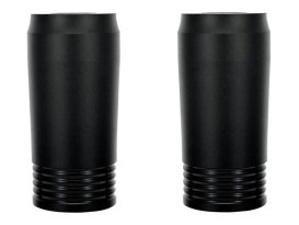 Merc Slider Covers - Black Ops. Fits Touring 1984-2013.