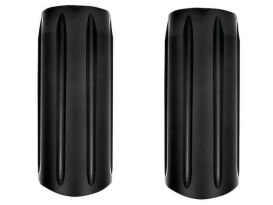 Slash Slider Covers - Black Ops. Fits Touring 1984-2013.