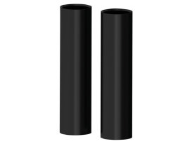 Smoothie Upper Fork Covers - Black. Fits Sportster 2004up with 39mm Forks.