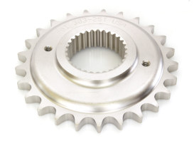 Front Transmission Sprocket; Big Twin'06up 6spd 25T(exc. Softail'08up 200 Tyre) 0.500