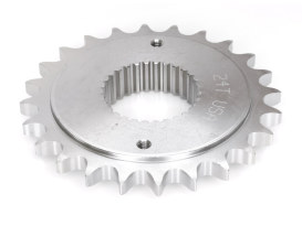 24 Tooth 0.300 Offset Transmission Sprocket. Fits Softail 2007 Only with 200 Rear Tyre.