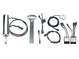 Electric Shifter Kit; Universal 7/8in. H/Bar App. (XG500/750A)