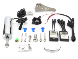 Electric Shifter Kit. Fits FL Softail 2007-2017 with Floorboards.