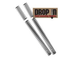 Fork Spring Lowering Kit with 39mm Fork Tubes. Fits Sportster 1200C, 1200CX, 1200V, 883L & 883N 2016up Models.