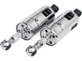 422 Series, Heavy Duty Spring Rate Rear Shock Absorbers - Chrome. Fits Softail 1989-1999.