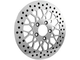 11.8in. Mesh Crosslaced Disc Rotor with Chrome Disc Carrier. Fits Left Hand Front & Right Hand Front.</P><P>