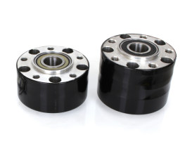 Rear Wheel Hub with Black Finish. Fits Ride Wright Spoke Wheel on Breakout & Fatboy 2018up Models with 240 Rear Tyre & ABS.