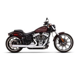 2-into-1 Exhaust with Chrome Finish & Chrome End Cap. Fits Heritage Classic, Sport Glide, Fat Boy & Breakout 2018up Models.