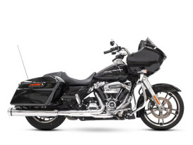 4-1/2in. MotoPro 45 Slip-On Mufflers - Chrome with Chrome End Caps. Fits Touring 2017up.