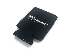 Rinehart Racing Coozie Black with White Imprint