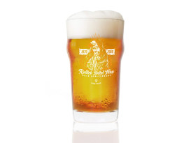 Rollies Speed Shop 40th Anniversary Pint Glass.