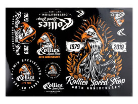 Rollies Sticker Sheet