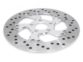 11.8in. Left Hand Front South Beach Disc Rotor - Chrome.