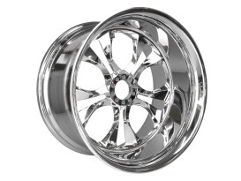18in. x 10.5in. Yukon Wheel - Chrome.
