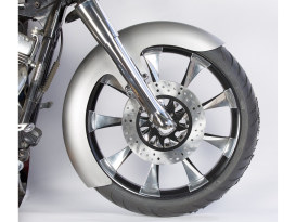 5-1/2in. wide, Straight Cut LS-2 Front Fender. Fits Touring 2014up with 21in. Front Wheel.