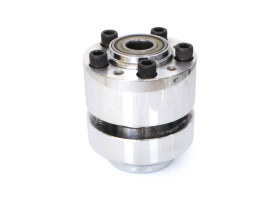 Front Wheel Hub. Fits XL883L, XL1200C/T/X 2014up Models with ABS & Single Disc Rotor.