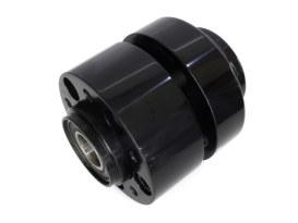Hub FR; SD Sportster'08-13 & Rocker'08-1025mm Axle -Annodised-BLACK