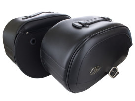 Drifter Rigid Teardrop Saddlebags. Fits Yamaha V-Star XVS650 1998up.