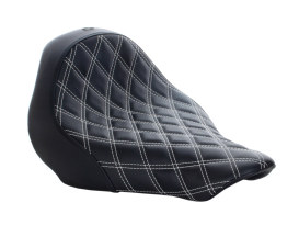 Renegade LS Solo Seat with White Double Diamond Lattice Stitch. Fits Breakout 2013-2017.