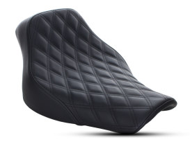 Renegade LS Solo Seat with Black Double Diamond Lattice Stitch. Fits Softail Deluxe and Heritage Softail Classic 2018up.
