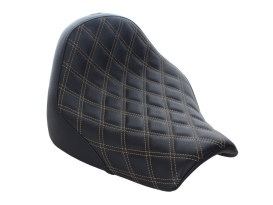 Renegade LS Solo Seat with Gold Double Diamond Lattice Stitch. Fits Breakout 2018up.