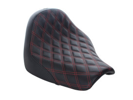 Renegade LS Solo Seat with Red Double Diamond Lattice Stitch. Fits Breakout 2018up.