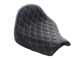 Renegade LS Solo Seat with White Double Diamond Lattice Stitch. Fits Breakout 2018up.