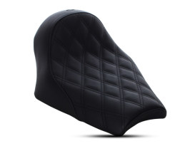 Renegade LS Solo Seat with Black Double Diamond Lattice Stitch. Fits Scout Bobber 2018up.