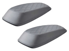 Lattice Stitch Saddlebag Lid Covers. Fits Touring 2014up.
