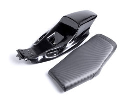 Eliminator Tail Section & Seat Kit with Faux Carbon Fiber Seat. Fits  Sportster 2004up.