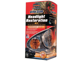 Ultra Clear Headlight Restoration Kit.